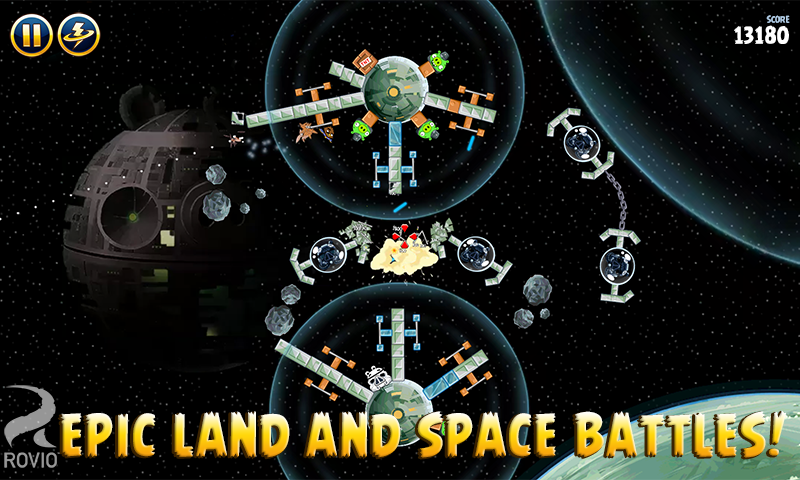 Angry Birds Star Wars screenshot #4