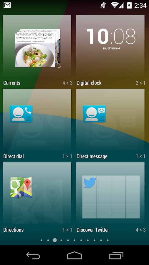 KitKat Launcher - screenshot