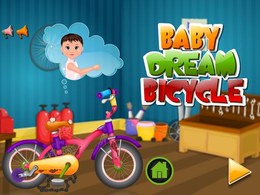 嬰兒清洗自行車比賽