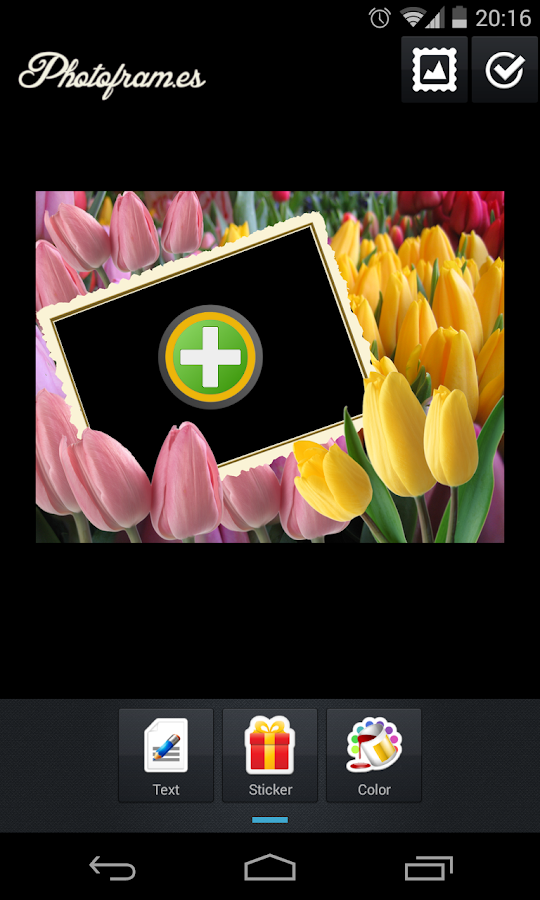 Flowers PhotoFrames- screenshot