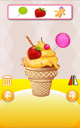 QCAT アイスクリームキッチン幼稚園 子供のゲーム 無料