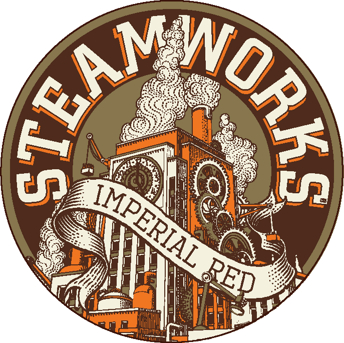 Logo of Steamworks Imperial Red