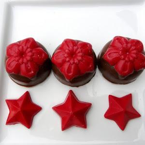 Christmas Flower Chocolates