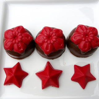 Christmas Flower Chocolates.