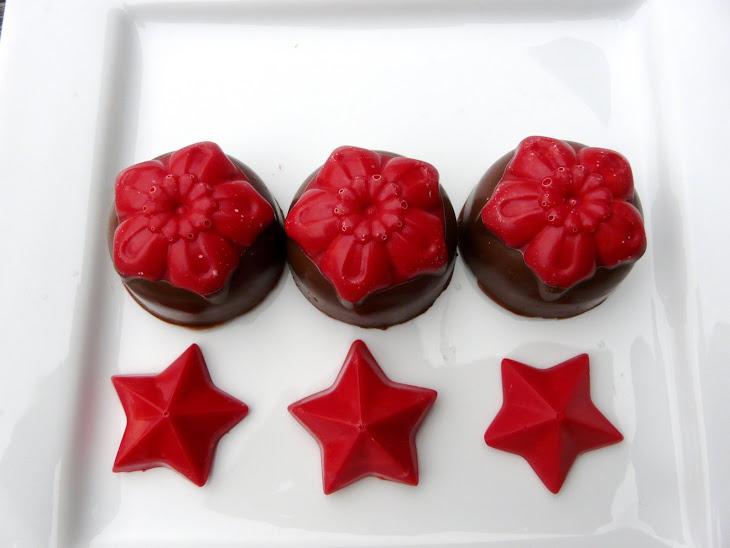 Christmas Flower Chocolates Recipe