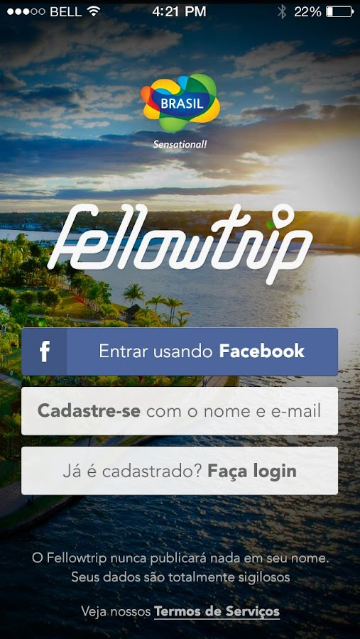 Fellowtrip- screenshot