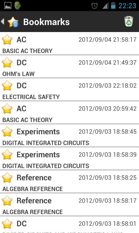 Lessons In Electric Circuits- screenshot