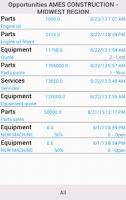 Screenshot of Infor M3 CLM