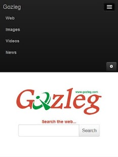 Gozleg Search Engine- screenshot thumbnail