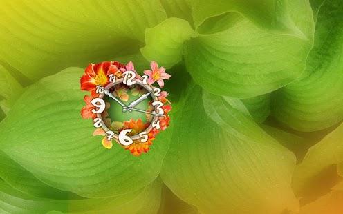Lilium Flower Clock