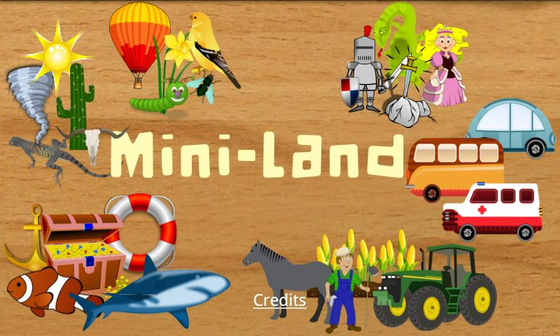 Mini Land Kid- screenshot