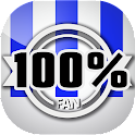 100% Fan de la Real Sociedad icon
