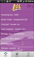Screenshot of FREE LOL Ringtones