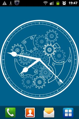 Clock blueprint wallpaper android apps on google play clock blueprint wallpaper screenshot malvernweather Gallery