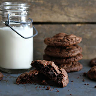 Chocolate Chocolate Chip Cookies.