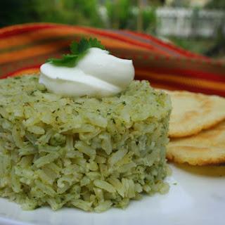 Mexican Cilantro Rice.