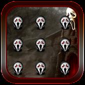 Scream Mask Pattern Lock