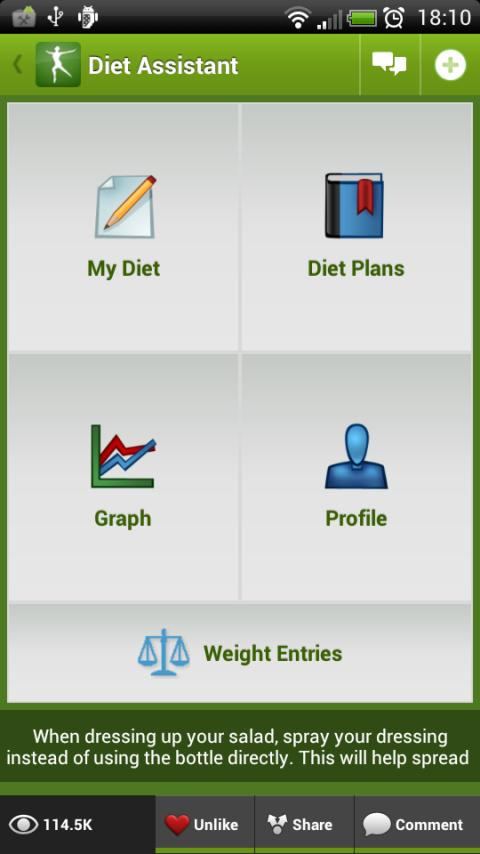 Diet Assistant - Weight Loss ★ - screenshot