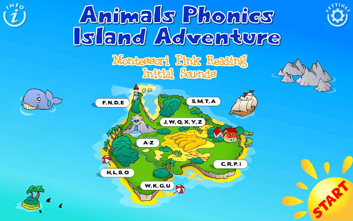 Reading Phonics Train School