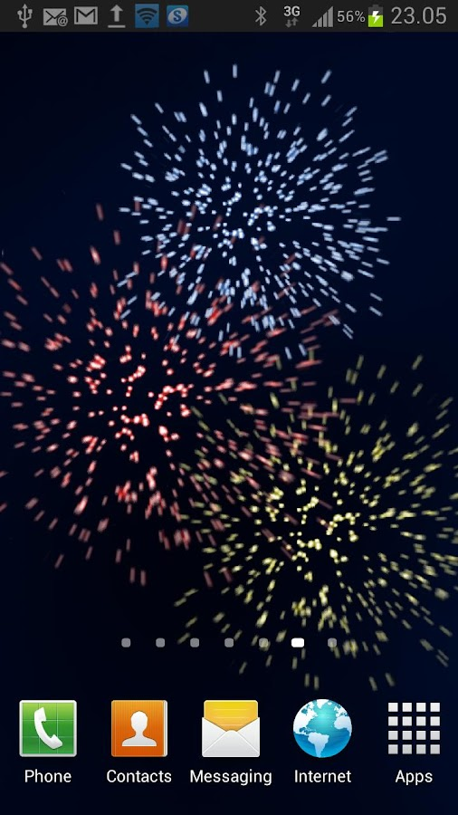 Fireworks 3D - screenshot