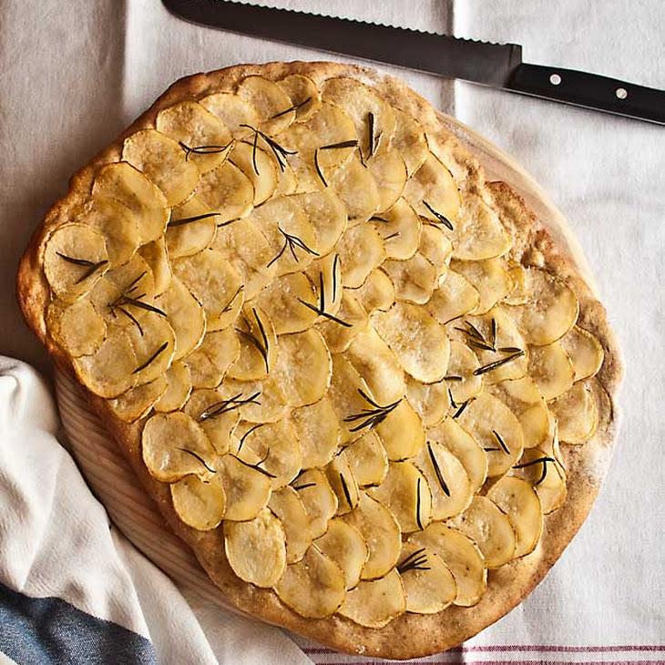 Potato Rye Pizza Recipe