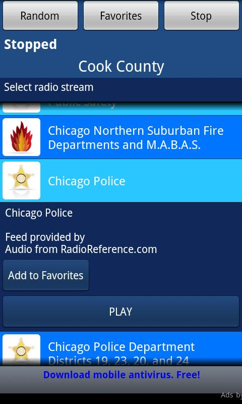 Free - Police Scanner Radio - screenshot