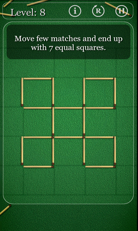 Puzzles with Matches - screenshot