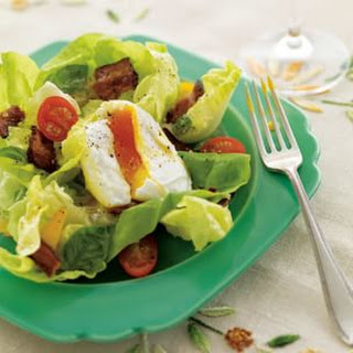 BLT and Poached Egg Salad