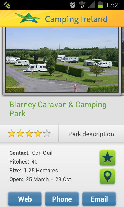 Camping Ireland- screenshot