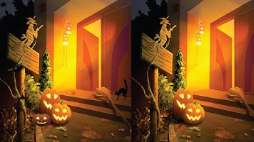 Screenshot of Find Differences - Halloween