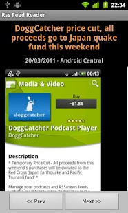 Rss Feed Reader - screenshot thumbnail