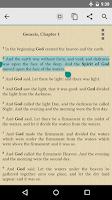 Screenshot of Bible KJV