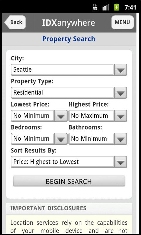 Puget Sound Real Estate- screenshot
