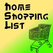 Home Shopping List