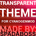 Transparent Red - CM13 Theme icon