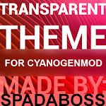 Transparent Red - CM12 Theme v3.1
