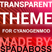 Transparent Red - CM12 Theme