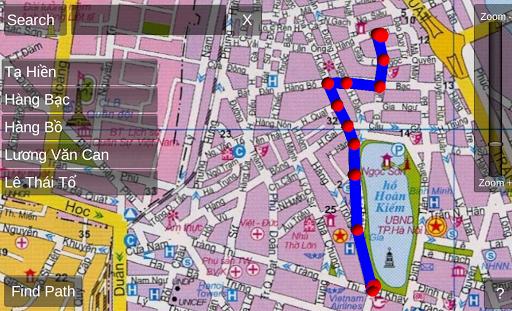 Hanoi map offline