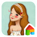 falling love summer girl dodol icon