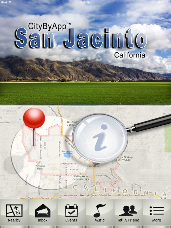 CityByApp® San Jacinto! - screenshot