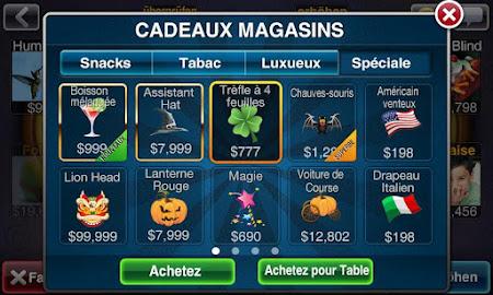 Texas Poker Deluxe Français 1.1.5 screenshot 7601