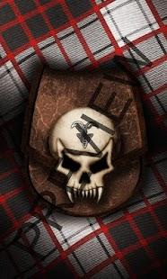 Download 3d Skull tartan wallpaper free Google Play softwares