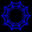 Blue Webcons Launcher Icons icon