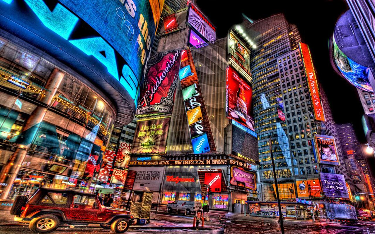 Times Square HD Wallpapers - screenshot