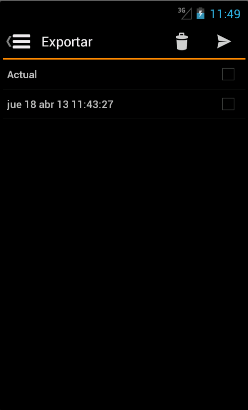 Gastos Celular PRO- screenshot