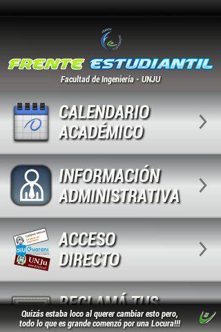 Frente Estudiantil FI