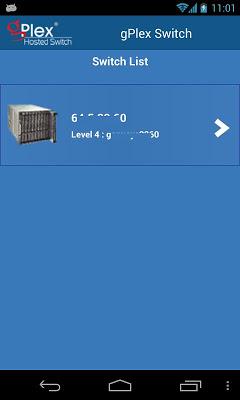 gPlex Switch - screenshot