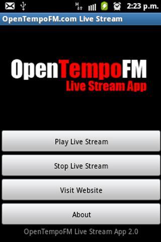 OpenTempoFM Live Stream
