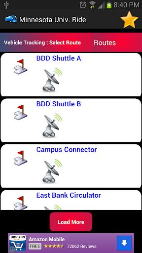 【免費交通運輸App】Minnesota University Ride-APP點子