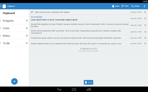 Clipper - Clipboard Manager Screenshot 10